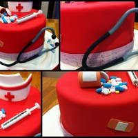 Nurse Themed Cake