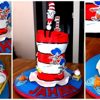 Cat In The Hat Cake Cat in the hat cake
