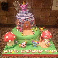 Littlest Pet Shop Fairies My niece wanted a LPS cake, and loves the new fairies. I used a fairy cake from Bella Cupcakes (New Zealand) and tweaked it to suit my...