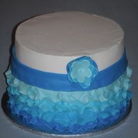 Blue Ombre Petals I love the ombre petal cakes out there, but had never done one. When I was invited to donate to a last minute auction, I thought I'd...