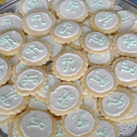Romney Wedding Cookies