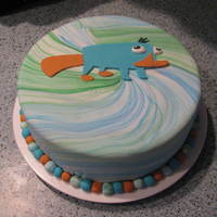 Gracie's 3Rd Birthday Cake This was the cake for my daughter's 3rd birthday. Phineas and Ferb was the theme, and we love Perry the platypus! I also made a 3D...