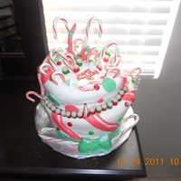Christmas Topsy Turvy With Candy