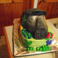 Paintball Cake For A 15 Yr Old