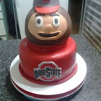 Brutus The Buckeye Cake No 3 Brutus 1 And 2 Were So Popular There Had To Be More Requests   Brutus the Buckeye Cake No. 3. Brutus 1 and 2 were so popular there had to be more requests.