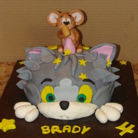 Tom And Jerry Cake   Tom and Jerry Cake