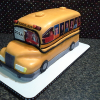 School Bus Cake  school bus cake for graduation using edible image of evey year's school picture. And some sneaky pics of the grad when the cap and...