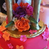 Indian Themed Wedding Cake