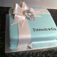 Tiffany Box Cake This is my favourite cake that i have made so far
