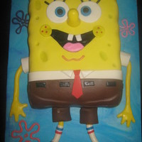 Spongebob Birthday Who lives in a pineapple under the sea?