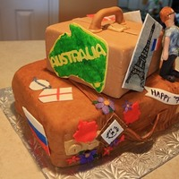 Traveler's Birthday Cake