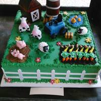 Farm Cake Everything Edible *Farm Cake, everything edible