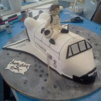 Space Shutle Cake