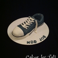 Converse Shoe Cake This cake was made for a guy who wears converse shoes since a very young age. His family and fiends decided to surprise him with this shoe...