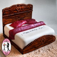 Detailed Bed Cake
