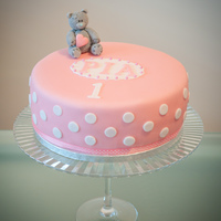 Me To You Teddy Bear Cake For 1St Birthday Me to you teddy bear cake for 1st birthday.