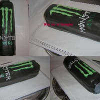 Monster Energy Cake Monster energy cake