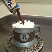 Beer Mug/ Floating Beer Cake