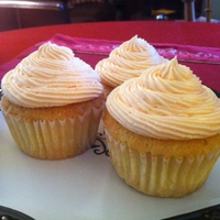 Orange Dreamsicle Cupcake All natural (we use real oranges to make our cakes and frosting not chemicals, and not extracts)