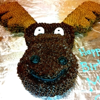 Mousse Moose I was asked to make a chocolate mousse cake that looked like a moose a couple days before a co-worker's son's birthday. I...