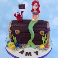 The Little Mermaid Treasure Chest Cake The Little Mermaid Treasure Chest CakeMade for a ladies 21st Birthday, you are never to old for Disney!