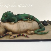 Reptile Cake I was requested to make a cake for a little boy who was having a reptile party for his Birthday (with real live ones!), When I asked what...