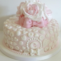 Pretty Birthday Cake