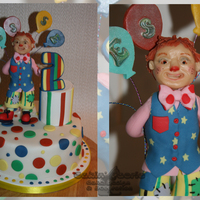 Vanilla Sponge Covered In Vanilla Buttercream And Fondant Mr Tumble Is A Character From Something Special And Has Been Created Using Modell... Vanilla Sponge covered in vanilla buttercream and fondant. Mr Tumble is a character from Something Special and has been created using...