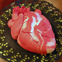 My Husband Gave Me His Heart My husband, who has never baked anything before, suprised me with this red velvet chili-chocolate cake when I came back from work. Its was...