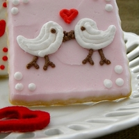 Love Birds My Christmas birds have found love <3