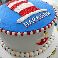 Cat In The Hat For Harrison Birthday cake for a sweet 3yr old