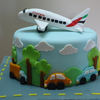 Airplane Made Of Gumpaste Cars And Trees Clouds Al Fondant Chocolate Cake With Chocolate Ganache Filling Airplane made of gumpaste, cars and trees, clouds al fondant...... chocolate cake with chocolate ganache filling