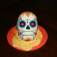 Sugar Skull / Day Of The Dead Cake