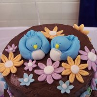 Topsy Turvy Blue Birds