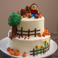 Harvest Time This cake has a few elements inspired by other harvest cakes and a few elements of my own. Pumpkin Spice Cake with Cram Cheese Frosting,...