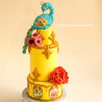 Peacock For Lucks Contest - Cake Central