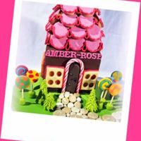 Hansel And Gretel Chocolate House This is the Magical house from Hansel and Gretel. the whole thing is chocolate cake, roof is laid with vanilla bean butter biscuits, the...