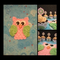 Owls... Cake Boards Want To Be Pretty Too! Little Keeley is turning five today, and she adores owls. I was so set on making her a cake, and have been waiting for over a year for...