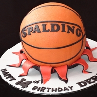 Basket Ball Cake