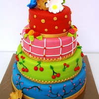 Happy Colourfull Cake