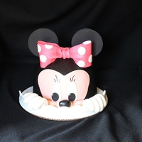 Smash Cake Minnie Mouse