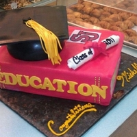 Graduation Cap Cake See more at www.circospastryshop.com