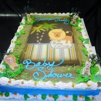 Baby Shower Cakes Jungle Theme See more at www.circospastryshop.com
