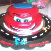 Cars2 Birthday Cake