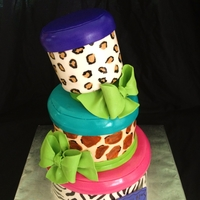 Animal Print Gift Boxes! WASC, Old-Fashioned Chocolate, and Red Velvet. So fun to make!!