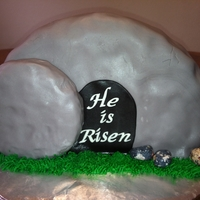 He Is Risen!   The empty tomb!