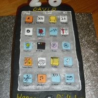Itouch Birthday Cake