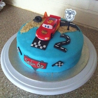 Cars Cake Car cake for my little cousin
