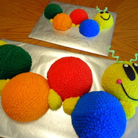 Caterpillar Cake With Smash Cake