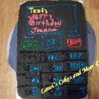 Cell Phone Cake *